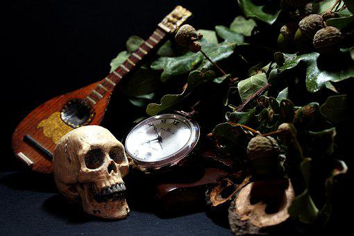 Time, Death, Life, Still Life, Composition, Passing