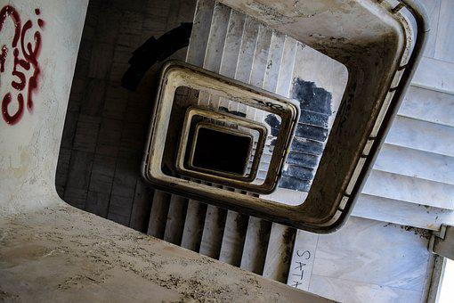 Stairs, Spooky, Ghost, Dungeon, Scary