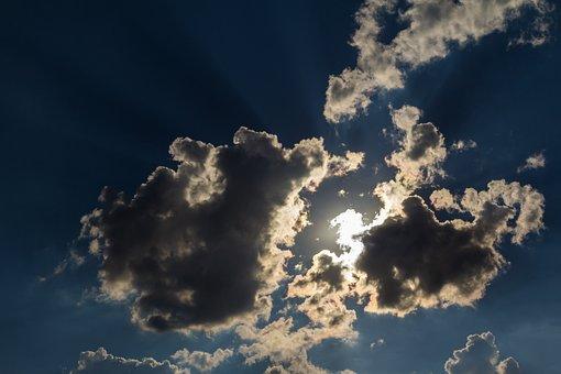 Clouds, Sky, Nature, Weather, Sun