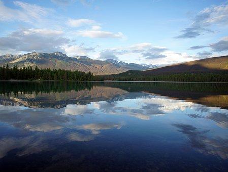 Mountains, Jasper, Canada, Alberta, Mountain, Outdoor