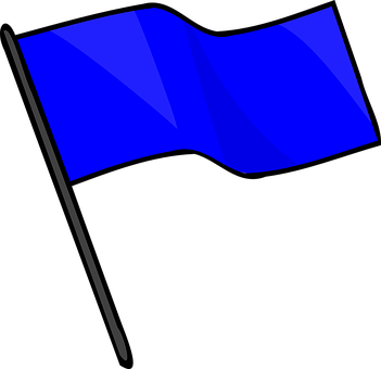 Blue, Flag, Capture, Signal, Sport, Game