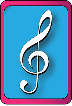 Treble Clef, Violine Clef, Clef, Music, Symbol