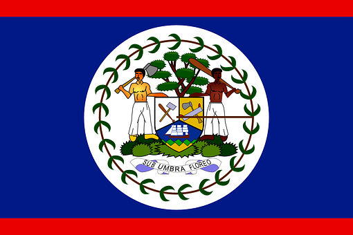 Belize, Flag, Country, Nation, Symbol, Signs, National