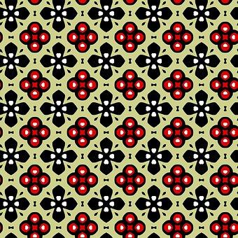 Seamless, Tileable, Pattern, Design