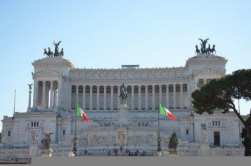 Monument, Building, The National Monument, Italy, Rome