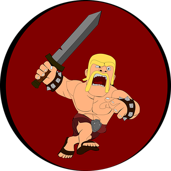 Clash Of Clans, Android, Games, Barbarian, Attack