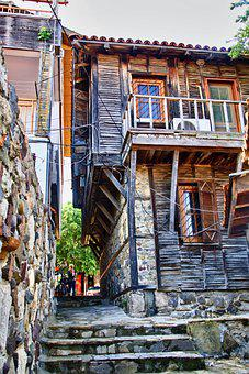 House, Structure, Architecture, Wooden, Construction