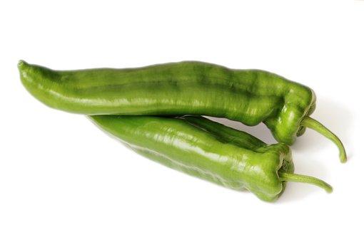 Peppers, Diet, Green, Vitamins