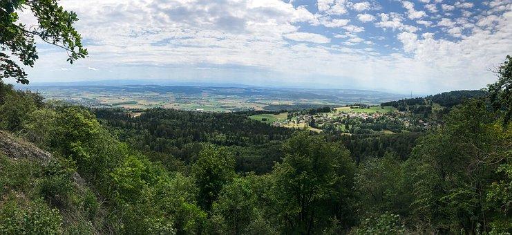 Panorama, Romont, Bern, Foresight