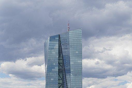 Frankfurt, European Central Bank, Ecb, Skyscraper