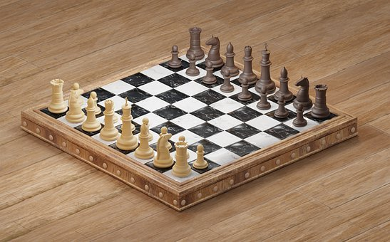 Chess, Chess Board, Knight, King, Pawn, Rook, Queen