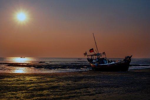 Boat, Nature, Landscape, Lake, Calm, Ocean, Travel