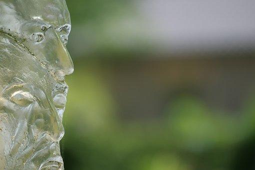 Glass, Glass Sculpture, Art, Transparent, Light