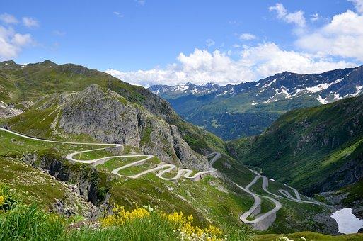 Dodder, Gotthard, Switzerland, Landscape, Mountain