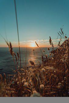 Sunset, Horizon, Sunrise, Nature, Landscape, Sky, Ocean