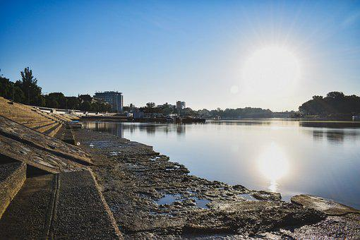 River, Water, Nature, Flow, Waters, City, Landscape