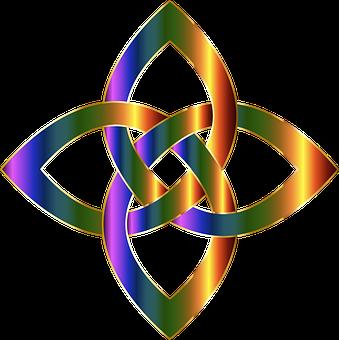 Interlinked, Interleaved, Geometric, Shape, Object