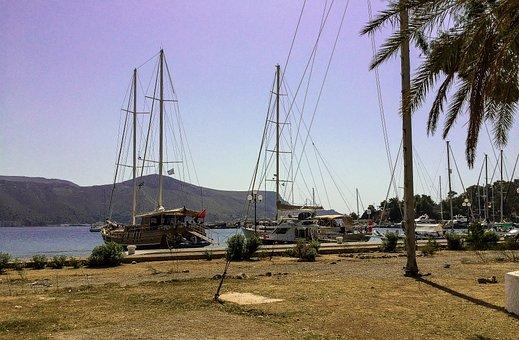 Greece, Sail Boat, Travel, Vacations, Sea, Sail, Summer