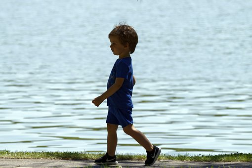 The Person, The Little Boy, Child, The Blue Clothes