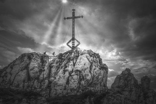 Summit Cross, Summit, Top, Mountain