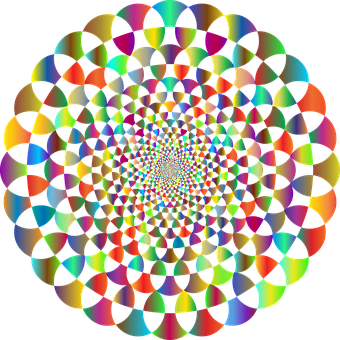 Mandala, Vortex, Decorative, Line Art