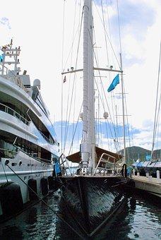Sailboat, Sailing Yacht, Yachts