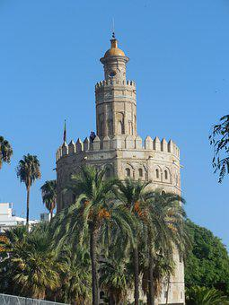 Monument, Seville, Espag, History, Building, Andalusia