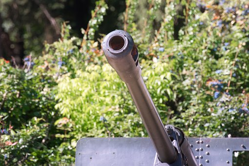 The Pipe, Cannon, The Gun, Metal, Check Out, Museum