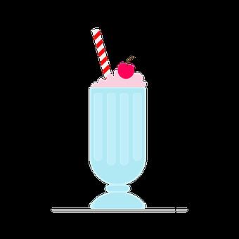 Milkshake, Ice Cream, Milk, Drink, Food, Cream