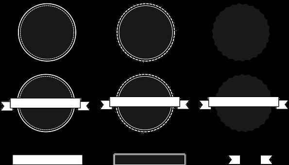 Circular, Logo, Emblem, Badge, Token