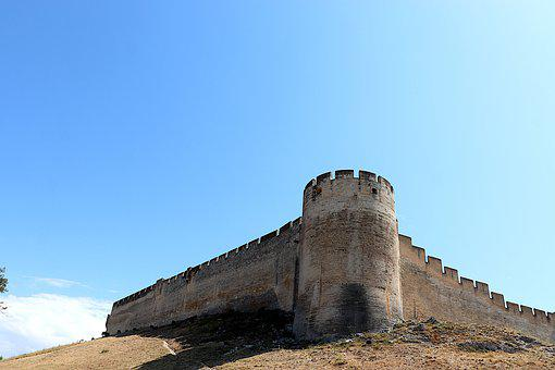 Fortress, Castle, Middle Ages, Monument, Austere
