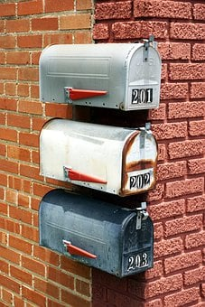 Mail, Post, Mailbox, Letters