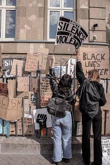 Protest, Racism, Black, Black Lives Matter