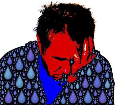 Sad, Sorrowful, Tearful, Emoji, Tears, Sorrow, Sadness