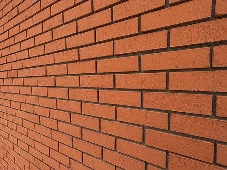 Brick, Red, Wall, Plaster, Architecture, Texture, Stone