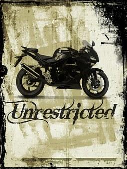 Bike, Grunge, Motorbike, Transport, Summer, Lifestyle