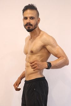 Six Pack Abs, Bodybuilder, Gym, Man, Muscle, Muscular