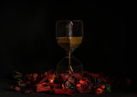 Hourglass, Time, Sand, Glass, Clock, Timer, Isolated