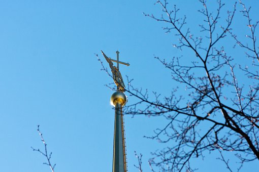 Spire, Angel, The Peter And Paul Fortress