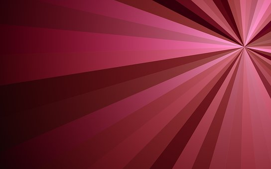 Rays, Pink, Red, Texture, Background