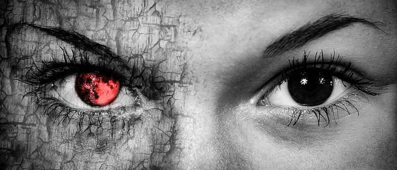 Eyes, Portrait, Eyes Face, Horror, Zombie, Human