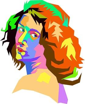 Blocks, Colors, Colours, Lady, Female, Woman, Person