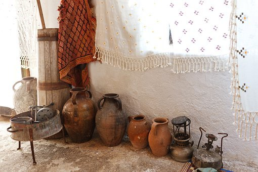 Aged, Ancient, Antique, Ceramic, Clay, Container
