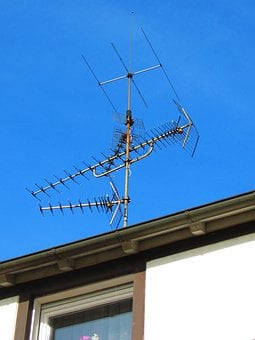 Antenna, Roof Antenna, Watch Tv, Television Reception