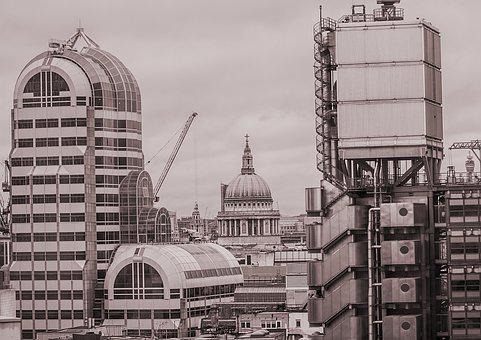 London, St Paul's, Cathedral, Landmark, Architecture