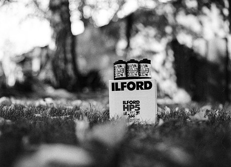 Ilford, Film, Box, Canister, Bulk Load, Photography