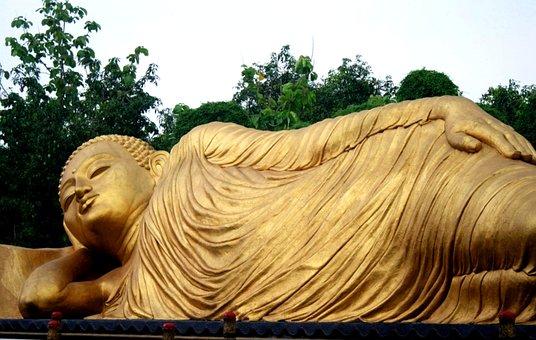 Patung, Budha, Maha Vihara Majapahit, Mojokerto