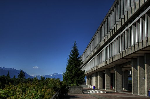 Canada, Simon Fraser University, Building, Architecture