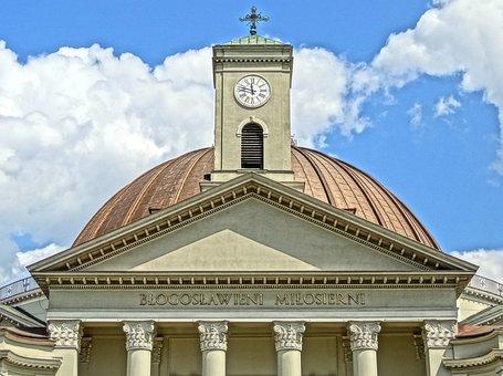 Clock, Dome, St Peter's Basilica, Vincent De Paul