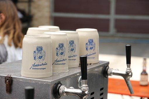 Beer Mug, Beer Mugs, Beer Stein, Beer, Beer Tent, Drink